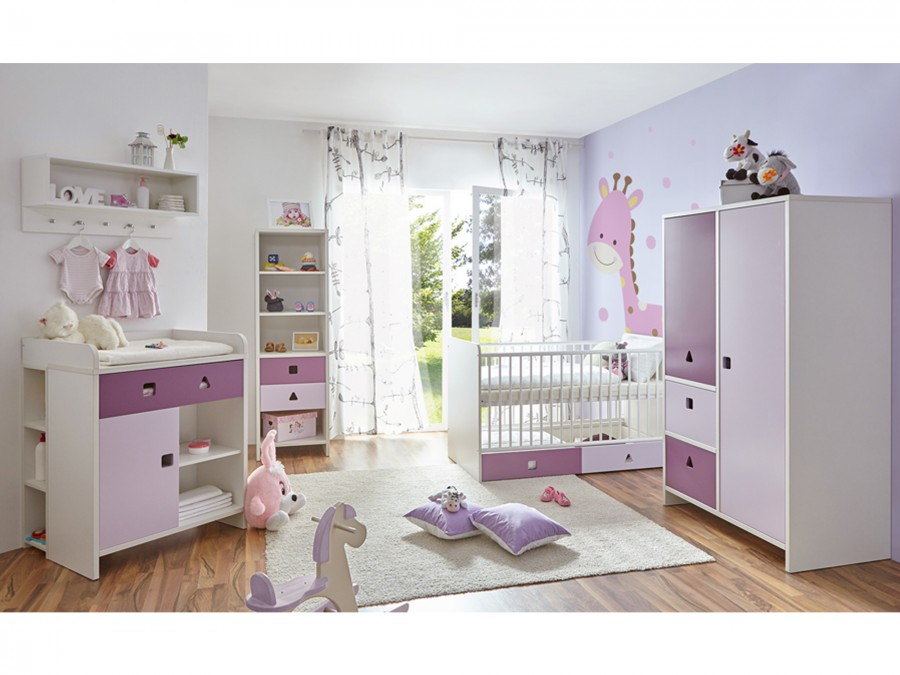 babyzimmer cubo 5 teilig 2 t rig verschied farben m bel 29. Black Bedroom Furniture Sets. Home Design Ideas
