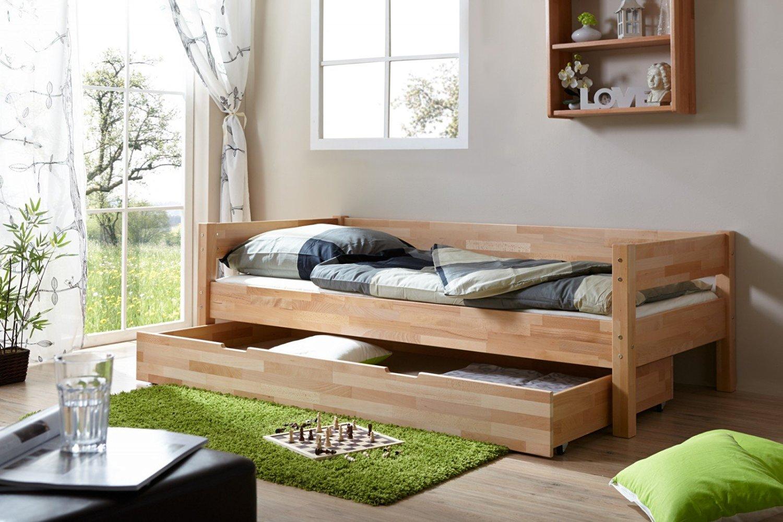 einzelbett robby buche massiv natur m bel 29. Black Bedroom Furniture Sets. Home Design Ideas